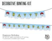 Pokemon Birthday Party Bu...