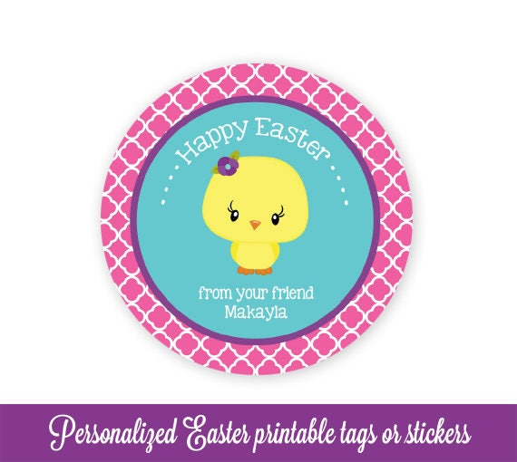 Easter gift tags easter favor tags easter tags chick easter easter gift tags easter favor tags easter tags chick easter bag tags easter printable kids personalized easter tags editable pdf negle Choice Image