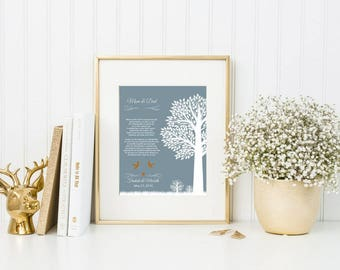 Wedding Thank You Gift for Parents from Bride and Groom Mother & Father In Law Gift Wedding Gift from Couple - 43477B