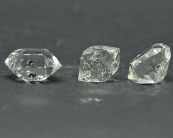 Enhydro Herkimer Diamond Quartz X 3 PIECES  - HD03