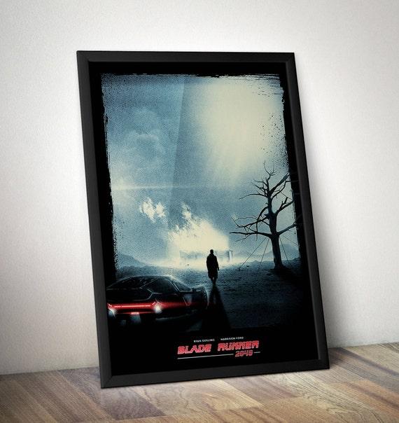 Blade Runner 2049 Inspired Minimalist Movie Print - Blade Runner 2049 Alternative Movie Poster