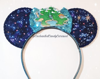 LAST ONE- Peter Pan Neverland Inspired Mouse Ears Headband