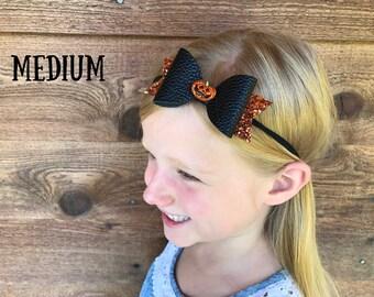 Halloween Hair Bow, Halloween Headband, Halloween Clip