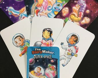 The StoryMaker Create A Story Cards - Outerspace