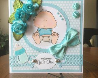 Baby Handmade Greeting Card