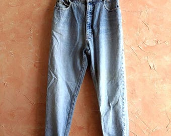 Northcrest Mommy Jeans 80s 90s Mom High Rise High-Waist Jeans Vintage Mom Jeans Vintage Denim Women's Straight Leg