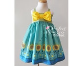 Anna Princess Dress | Summer Dress | Disney Vacation | Birthday Dress | Frozen Fever | Princess Dress | Disney Dress | Disney World