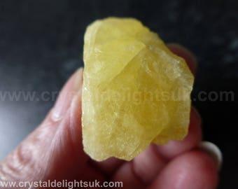 Rare Yellow 'Sunshine' Danburite (17.6  grams / 28 mm) Natural Freeform Piece (13) Mexico  - FREE UK POSTAGE