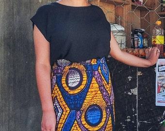Africa Print Skirt, Africa Skirt, Ankara Skirt, Africa Pencil Skirt, Africa Print Pencil Skirt, Ankara Pencil Skirt, Africa Clothing, Ankara