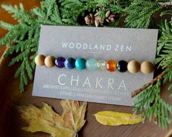 7 Chakra Bracelet Mens Bracelet, Chakra Bracelet for Men, Mens Jewelry Gemstone Bracelet, Energy Bracelet, Healing Bracelet