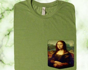 Mona Lisa Pocket Shirt (Leonardo Da Vinci)