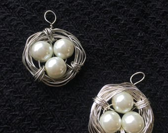 Birds Nest Necklaces