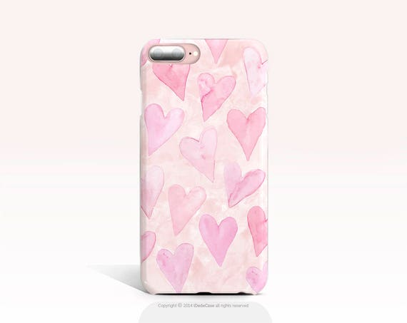 iPhone 8 Case Heart iPhone 7 Case Pink iPhone X Case iPhone 8 Plus Case iPhone 6s Case TOUGH iPhone 6 Case Samsung Galaxy S8 Plus Case