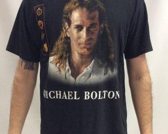 Vintage 1993 Micheal Bolton Timeless Tour T Shirt