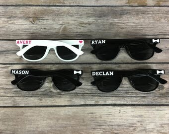 50 KIDS Personalized Sunglasses, Birthday Party Favor, Children's Birthday Party, Family Reunion Favor, Kids Sunglasses, Kids Party Favor