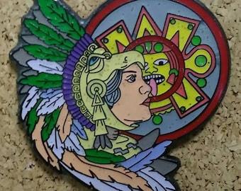 aztec warrior woman
