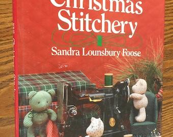 Scrap Savers Christmas Stitchery Book by Sandra Lounsbury Foose.