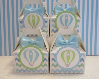 Hot Air Balloon Favor Boxes Party Favors