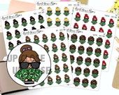 Pay Day Planner Stickers - Work Planner Stickers - Money Planner Stickers - Character Planner Stickers - 1307 - 1308 - 1309 -1310 - 1311