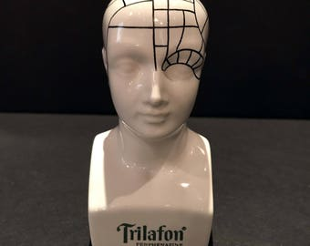 Vintage (1970's) **RARE** Schering Trilafon Pharmaceutical Medical Bust Head