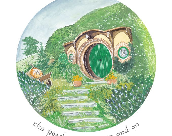 Lord of the Rings Hobbiton Print