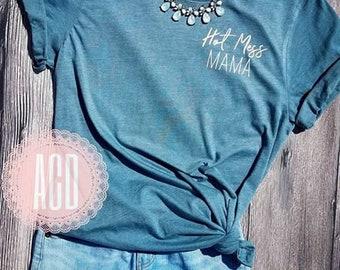 Hot Mess Mama-Mom Shirt-Funny Mom Shirt-Mom Life-Motherhood-Cool Mom-Mom to Be-Mom shirts-Hot mess express shirt-Hot Mess Mom Shirt-Cute mom