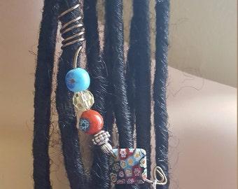Hippie loc jewelry