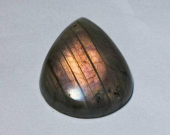 Labradorite cabochon 48 Cts.[33 x 24]mm #4229