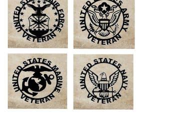 Military Veteran Tile