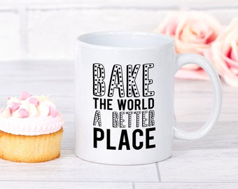 Baker Mug, Baker Gift, Bakery Mug, Gifts For Bakers, Baking Mug, Baking Gift, Bakers Mug, Kitchen Decor, Love Baking, Gift For Baker, Baking