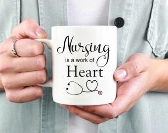 Nurse Mug, Nurse Gift, Nursing Student,Nurse Coffee Mug, ER Nurse, Future Nurse, Nurse Appreciation, Gift For Nurse, Nurse Graduation, Nurse