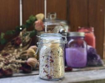 Jasmine, Chamomile and Sweet Orange Herbal Bath Salts