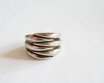 Chunky 925 Silver Ring