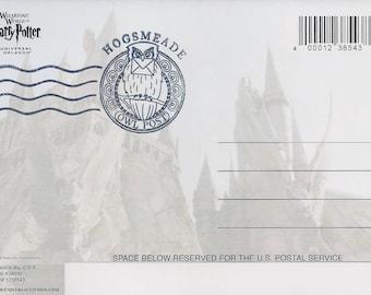 Letter from Hogwarts: Hogsmeade Postmarked