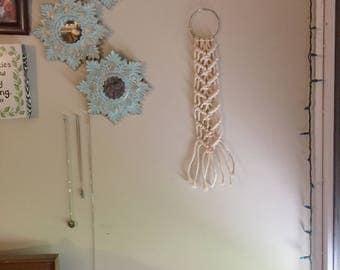 Macrame Ring Wall Hanging