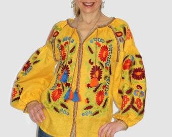 Ukrainian blouse vyshyvanka woman grapevine ukrainian embroidery bohemian clothing ethnic Ukraine boho blouses vishivanka embroidered shirt