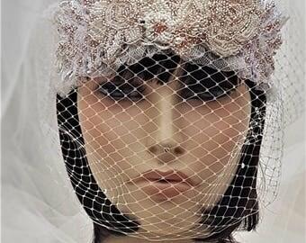 Elven Bridal Crown / Elven Bridal Dress / Lord of the Rings Bridal Crown / Elven Wedding Crown / Elven Bridal Headband / Elven bridal tiara