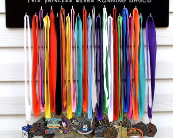 FAST SHIPPING Free Customizing Available   Running Medal Display Rack S4816 Glass Slippers