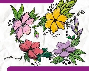 Flowers - ClipArt Set