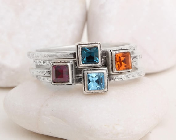 s birthstone rings design your own set of