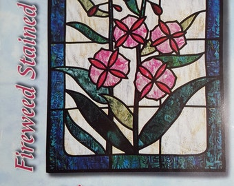Stain Glass Quilt Pattern Kit