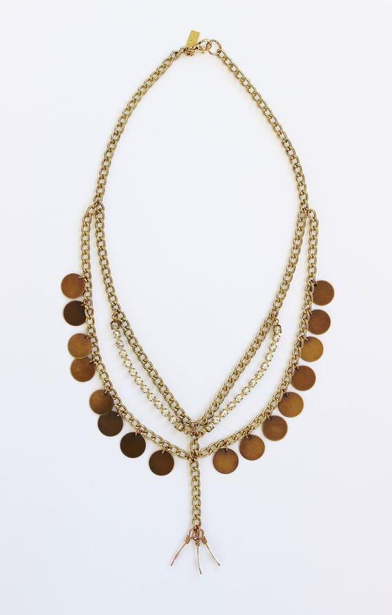Bohemian Brass Collar