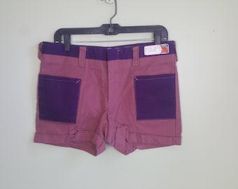 "1970s Walkies Shorts - Deadstock Vintage Men's Shorts - Hot Pants - 33"" Waist"