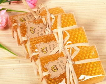 4pcs x 3.5oz honey soap