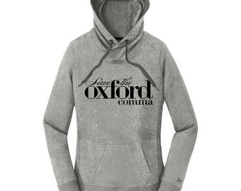 Oxford Comma Shirt Oxford Comma Hoodies for Women Grammar Police Shirt Editor Gift Ideas for Her Grammar Hoodies with Sayings Grammar Shirts