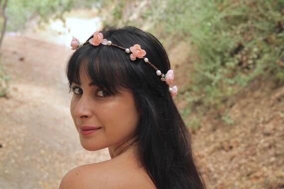 Pearl flower crown. Pearl Crown. Pearl Bridal Crown. Pearl Wedding. Flower crown with pearls.Bridal flower crown with pearls.