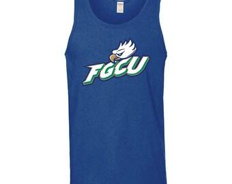 FGCU Eagles Primary Logo Tank Top - Royal Blue