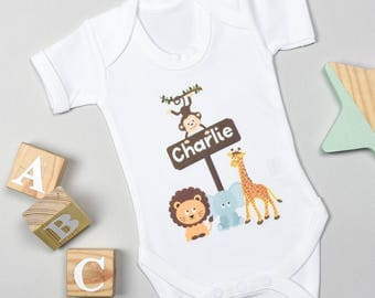 Personalised Animal Bodysuit