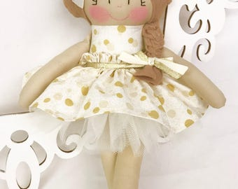 Fabric Doll- Handmade Doll- Gifts for girls