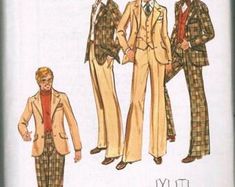 Butterick 5722 SIZE 38 Men's Blazer Jacket, Vest and Pants UNCUT